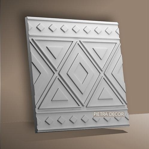 Панель 3D Орнамент 500х500 мм