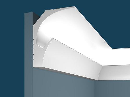 Карниз для скрытого освещения KX025 (115*90*2000мм), экополимер