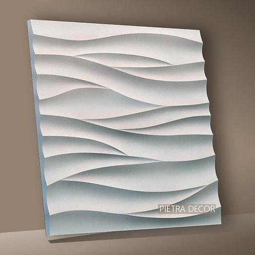 Панель 3D Волна острая 500х500 мм