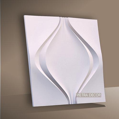 Панель 3D Мягкий ромб 500х500 мм