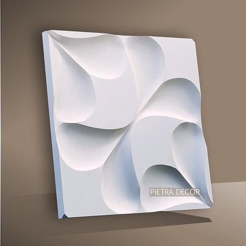 Панель 3D Серпа 500х500 мм