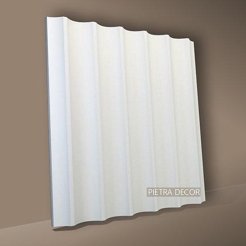 Панель 3D Вертикаль 500х500 мм