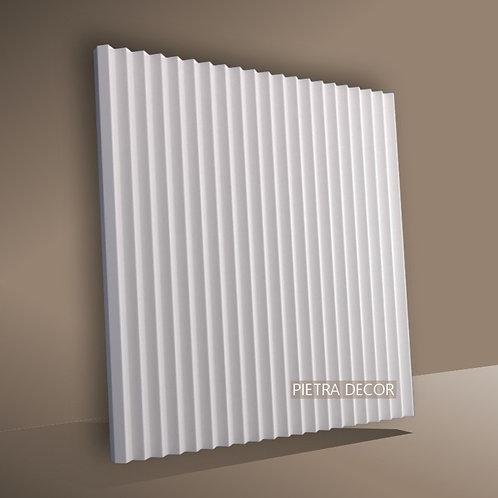 Панель 3D Консул Рейка 500х500 мм