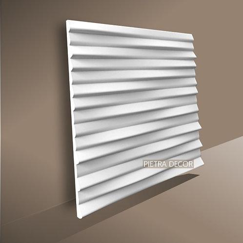 Панель 3D LINES 500х500 мм