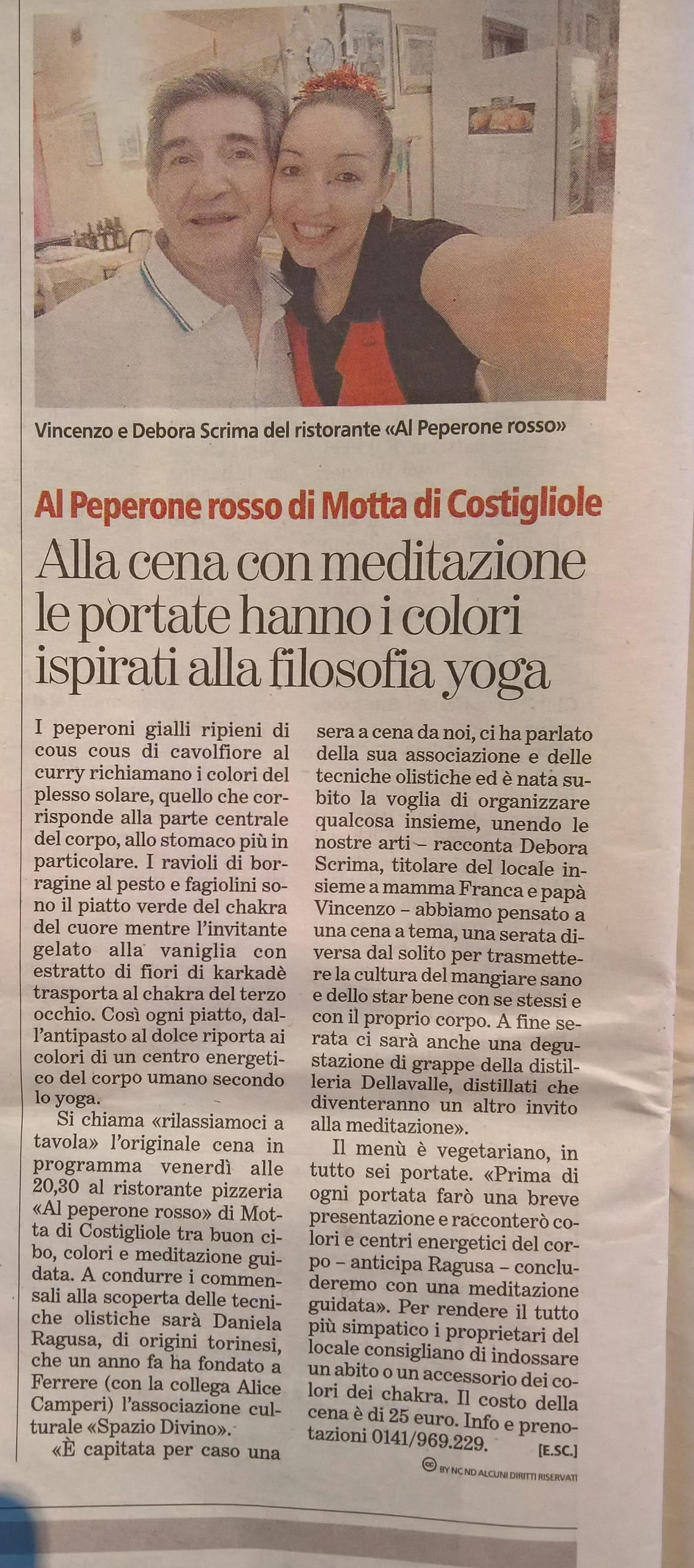 La Stampa....Mercoledì 8 Febbraio 2017..