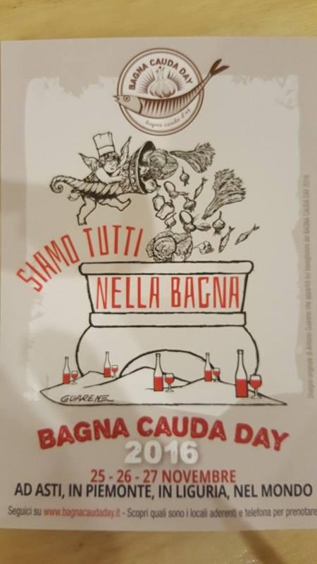 BAGNA CAUDA DAY!!!