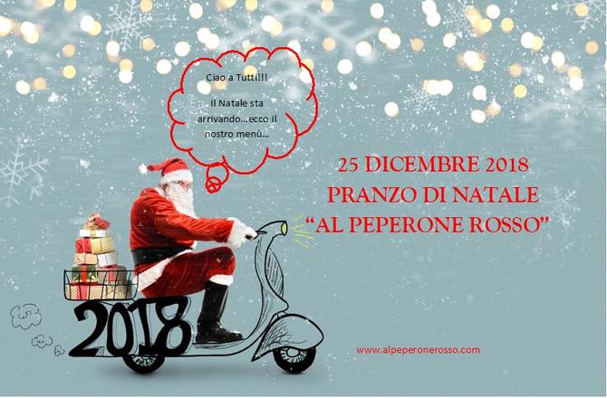 """PRANZO DI NATALE 2018 - """"AL PEPERONE ROSSO"""""""
