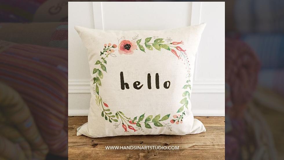 Hello Pillow Art Kit