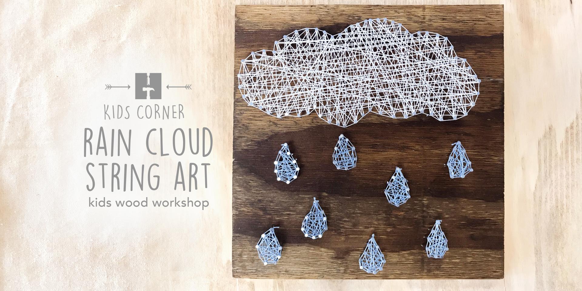 Rain Cloud String Art