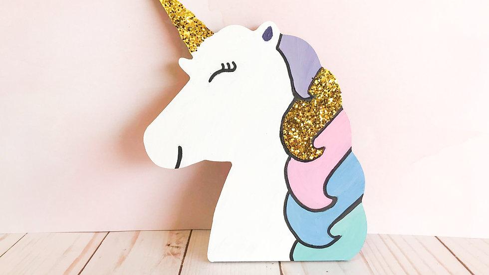 Mini Art Kit - Unicorn Head
