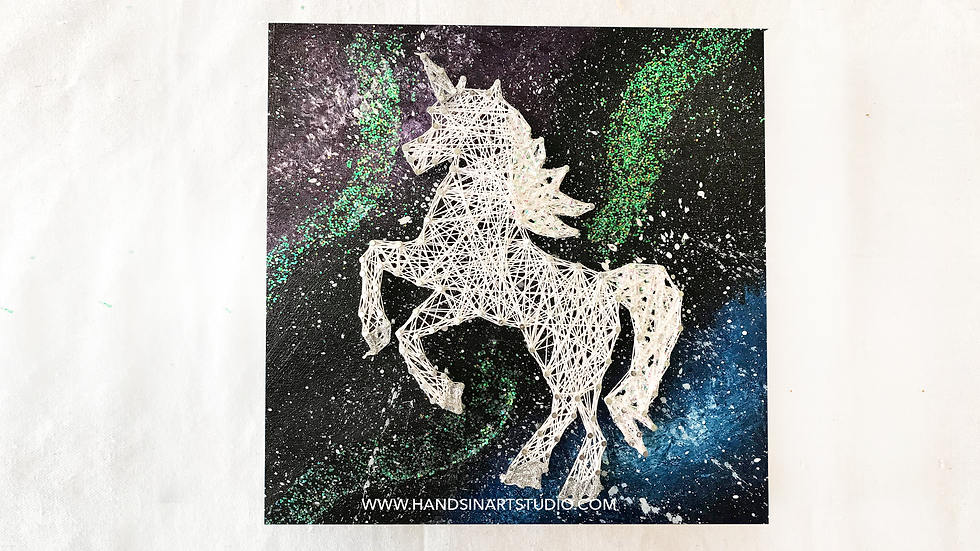 Space Unicorn Art Kit