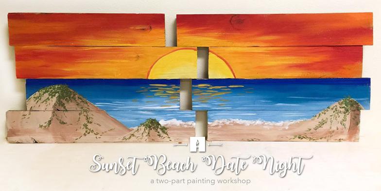 Sunset Beach Date Night