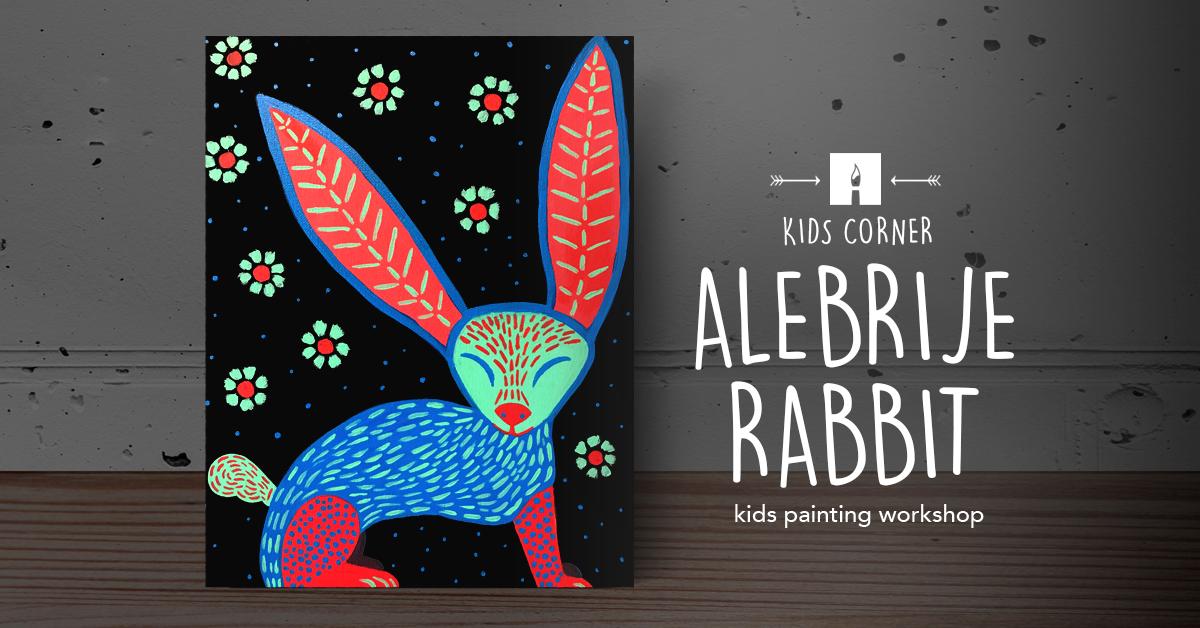 KIDS CORNER Paint alebrije rabbit.png
