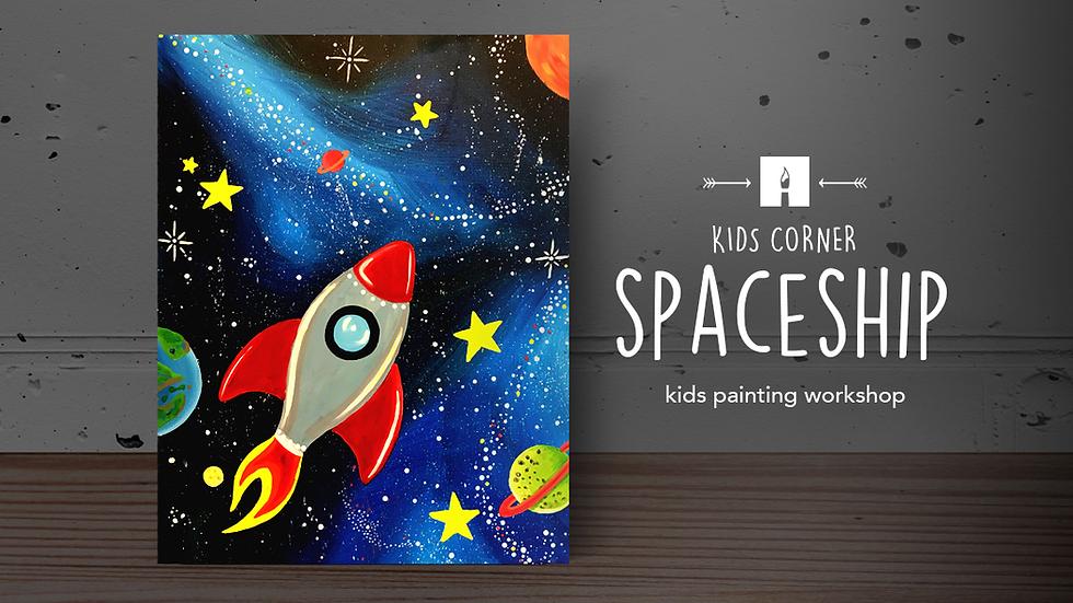 Online Workshop | Spaceship Painting