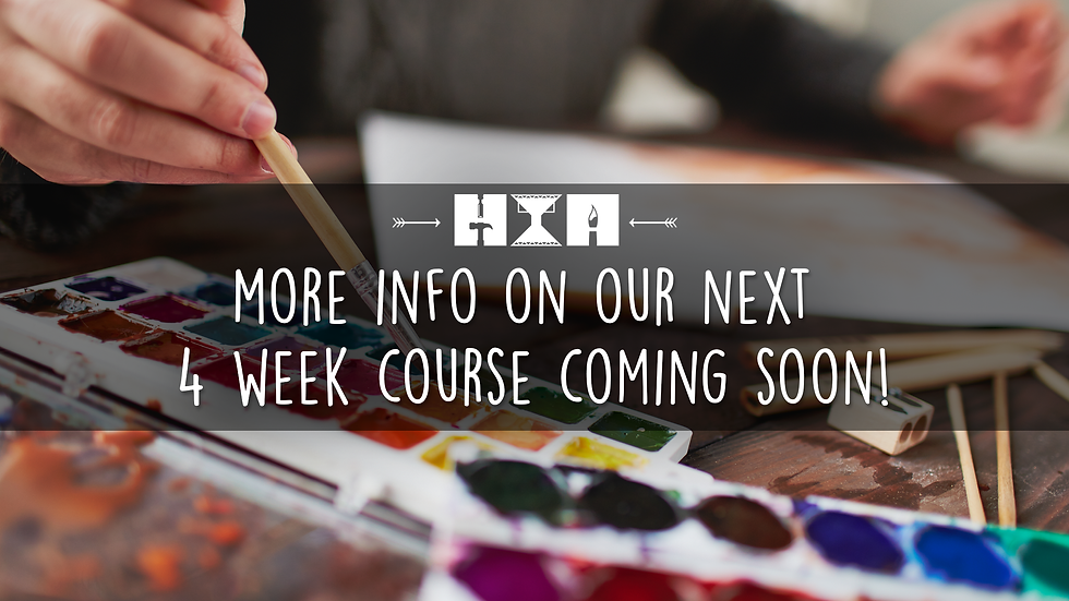 4 Week Course | COMING SOON