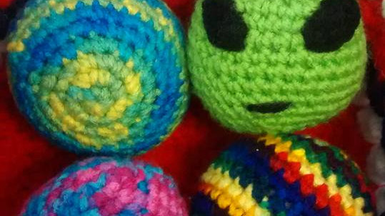 Crocheted Ball
