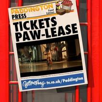 Paddington Bear MoTickets Paw-lease