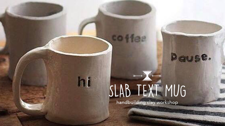 Slab Text Mug