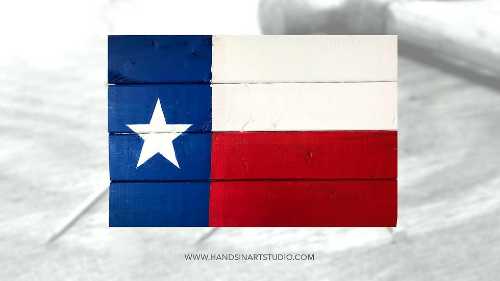 Texas Flag Art Kit