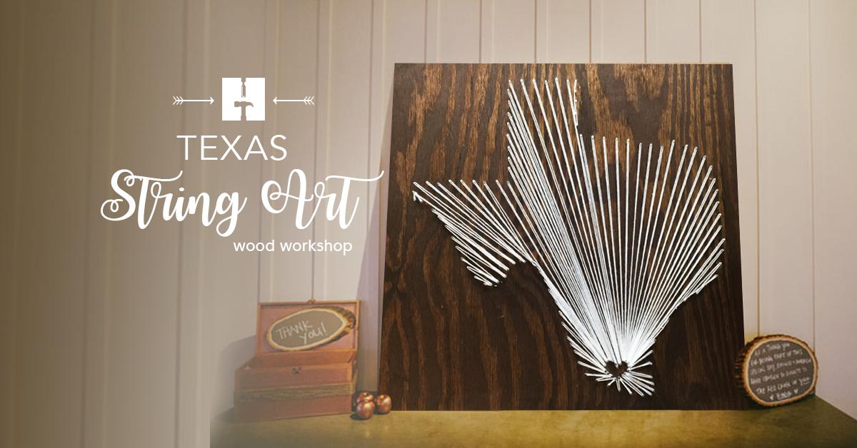 Texas String Art