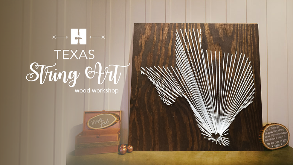 Texas String Art Kit