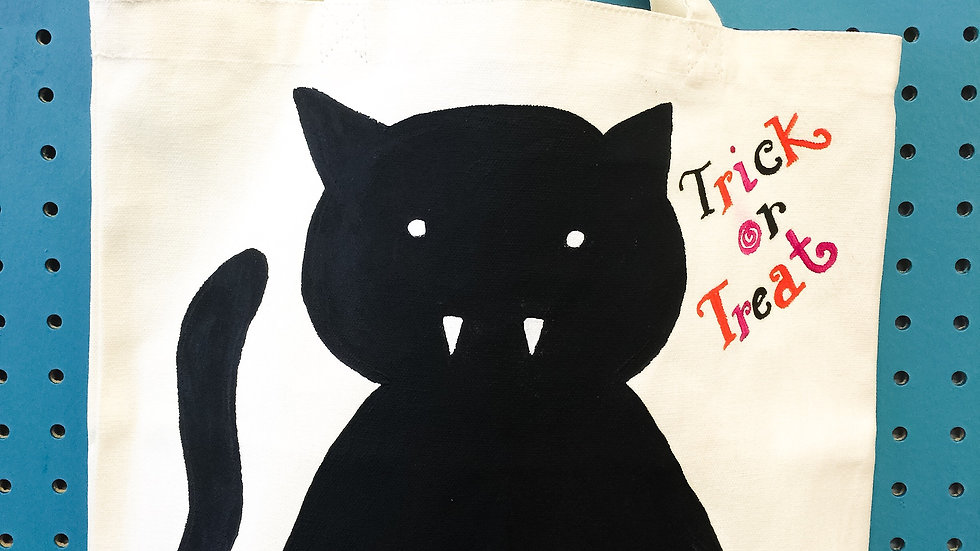 Trick-or-Treat Canvas Bag