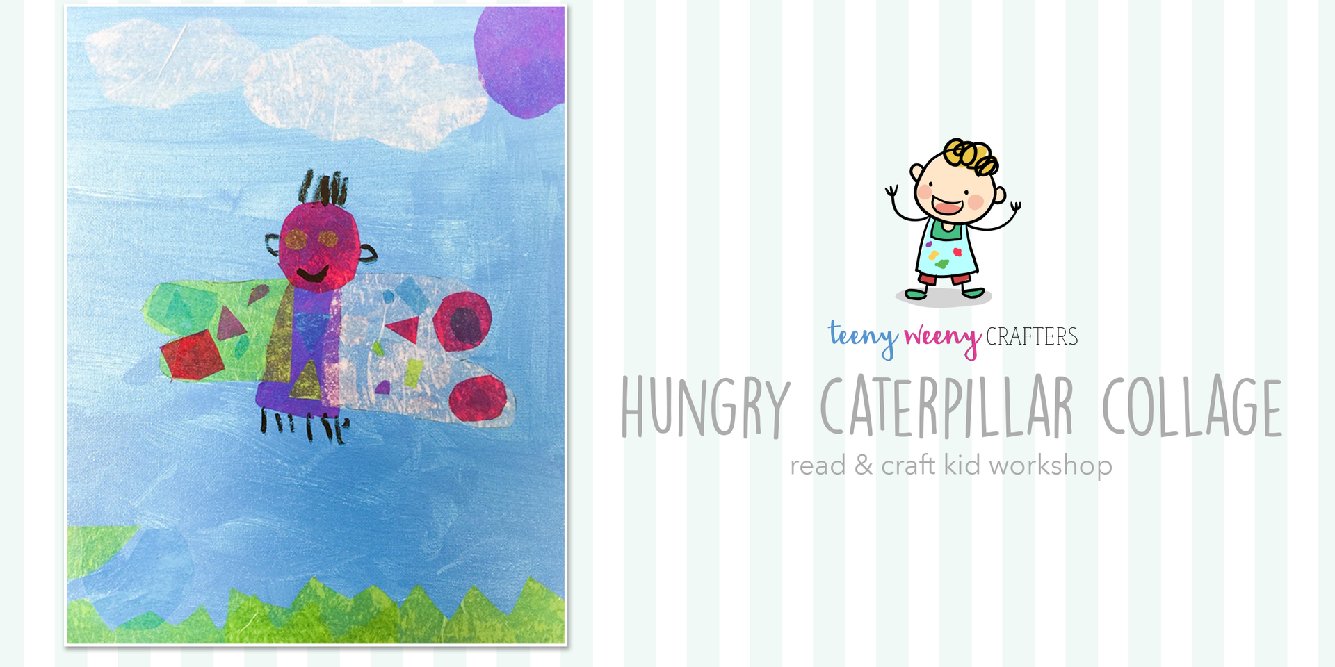 Hungry Caterpillar Collage