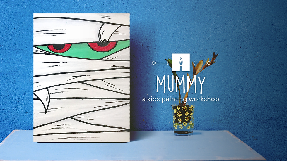 Mummy Painting