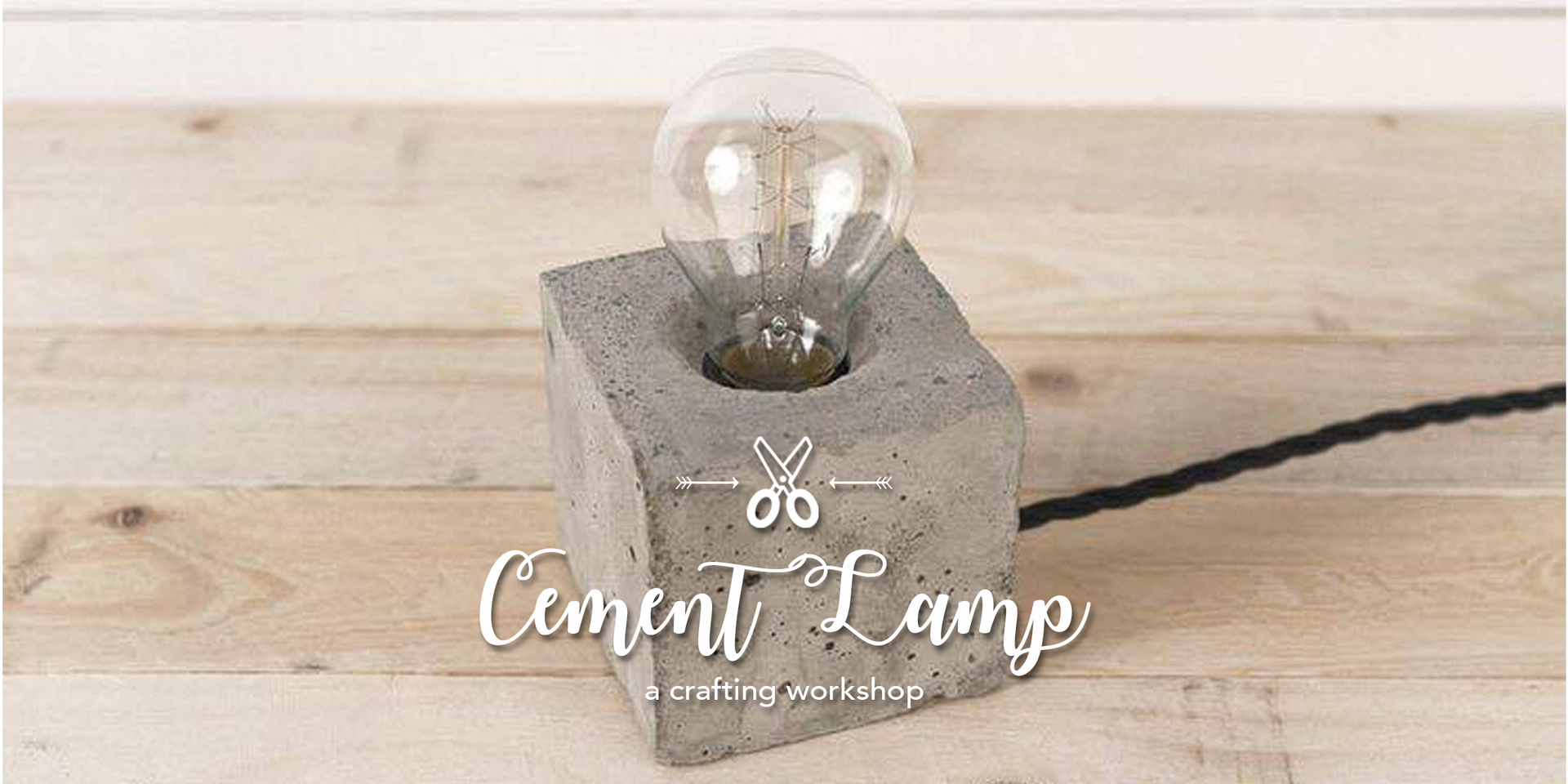 Cement Lamp