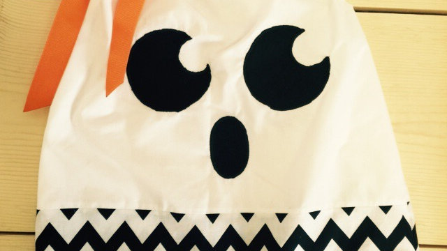 Ghost Face Pillowcase Dress