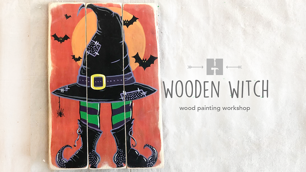 Wooden Witch