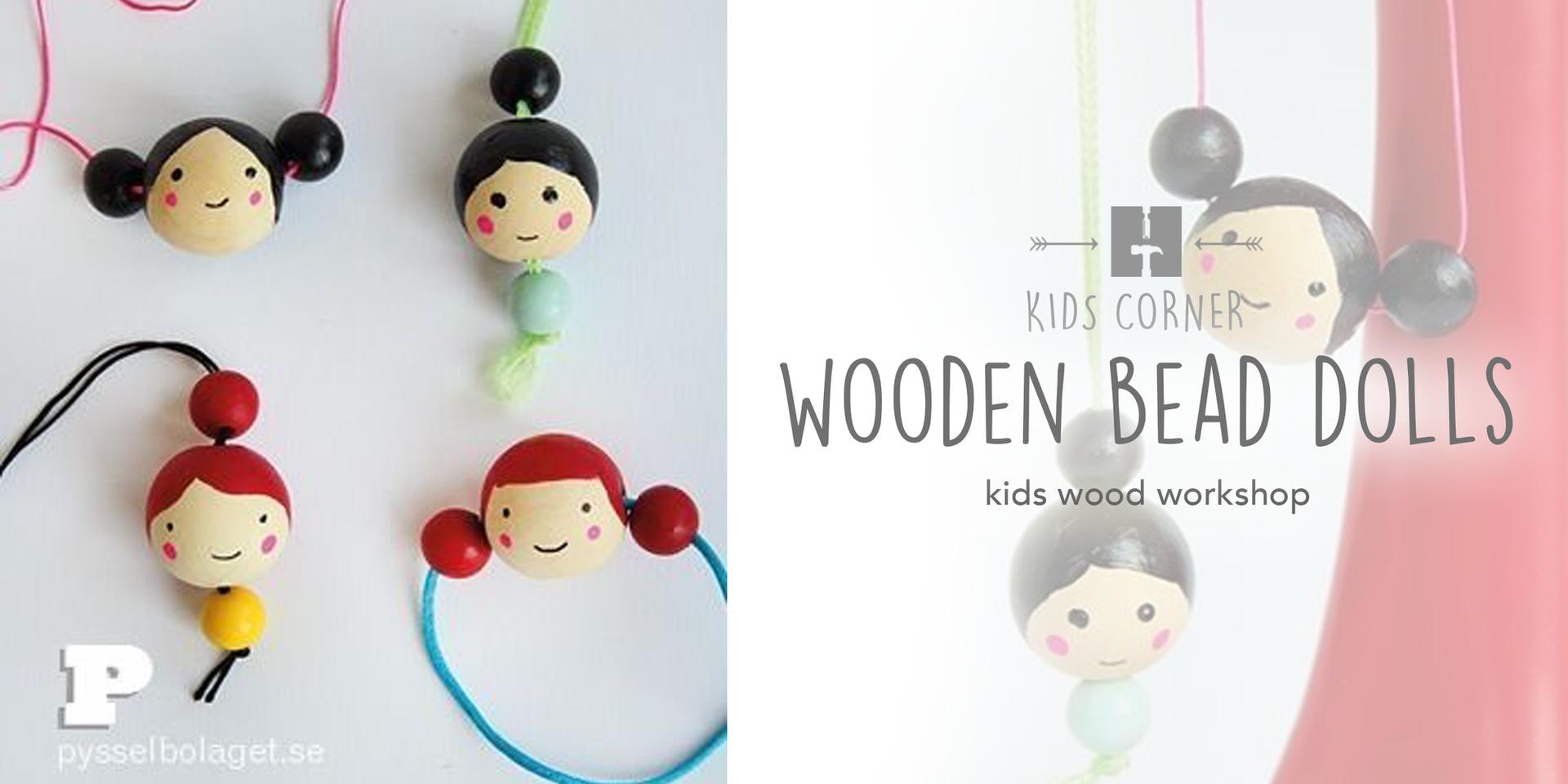 Wooden Bead Dolls