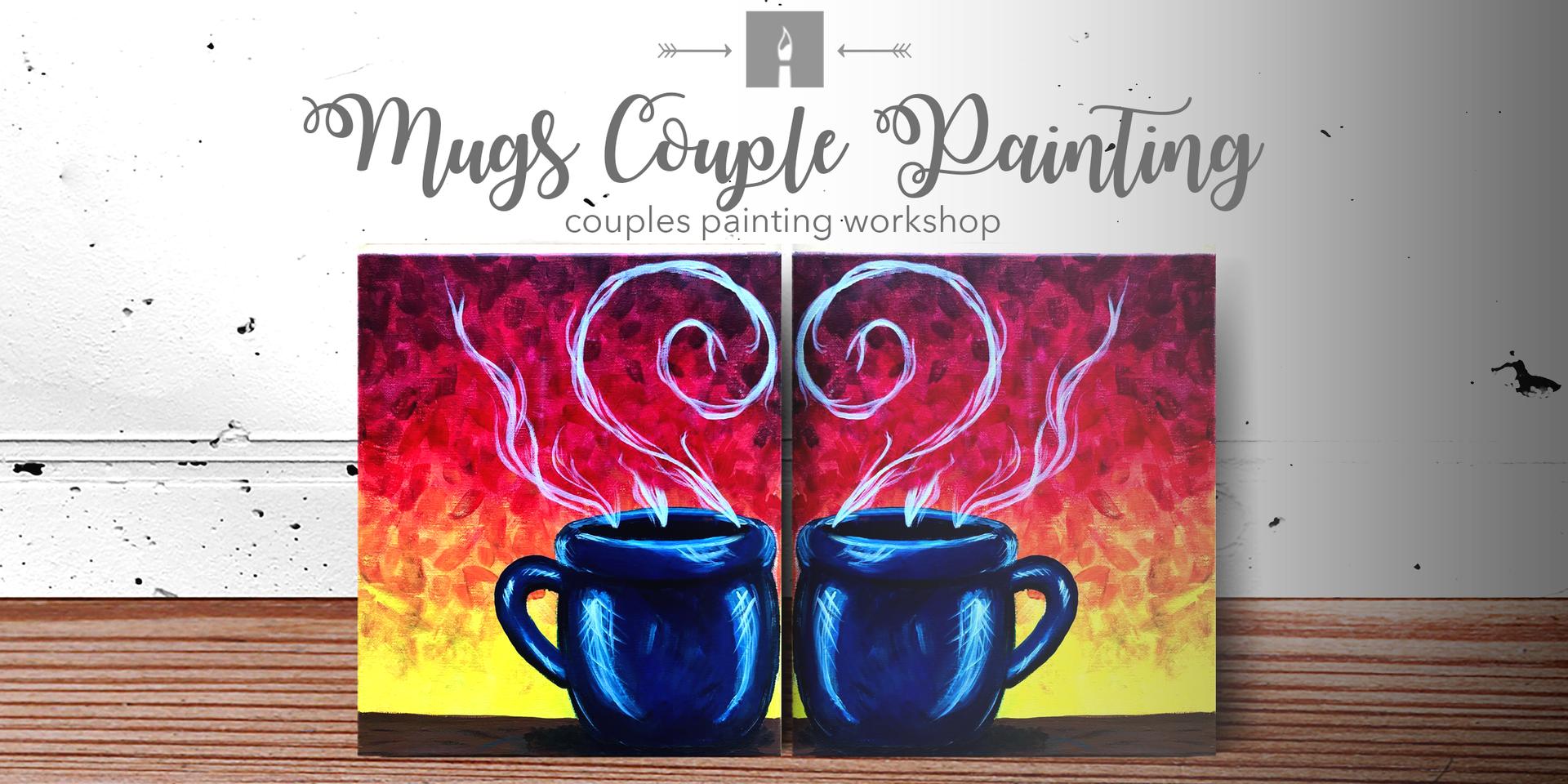 Mug Couples Painting