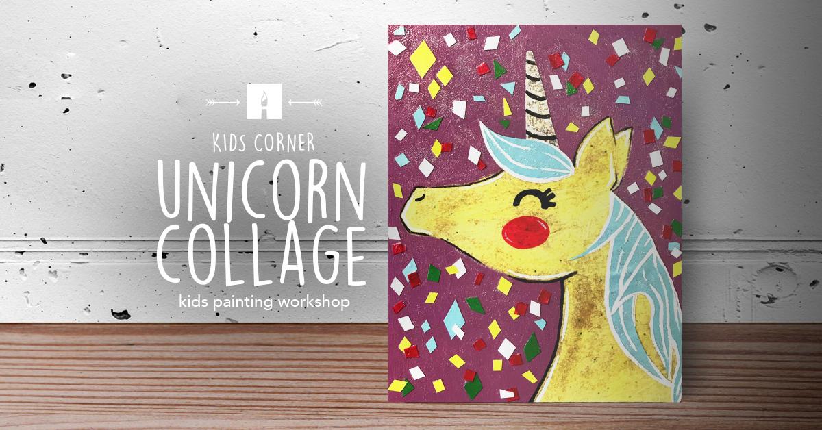  Unicorn collage
