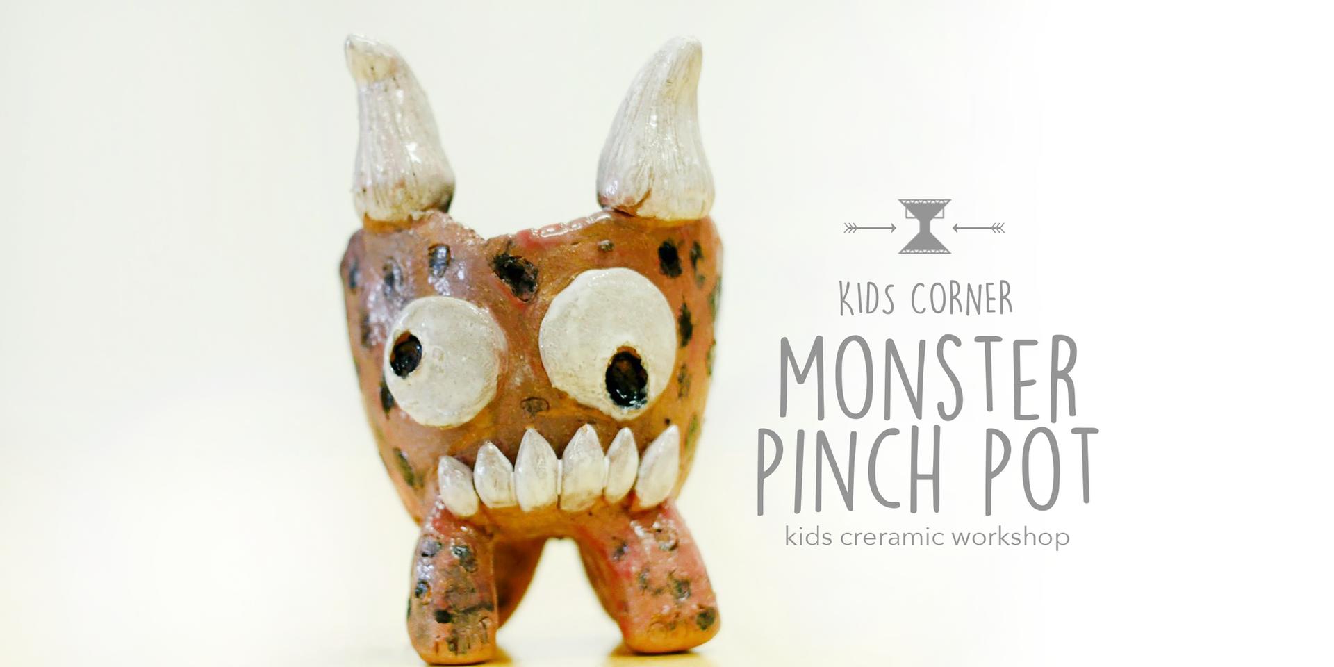 Monster Pinch Pot