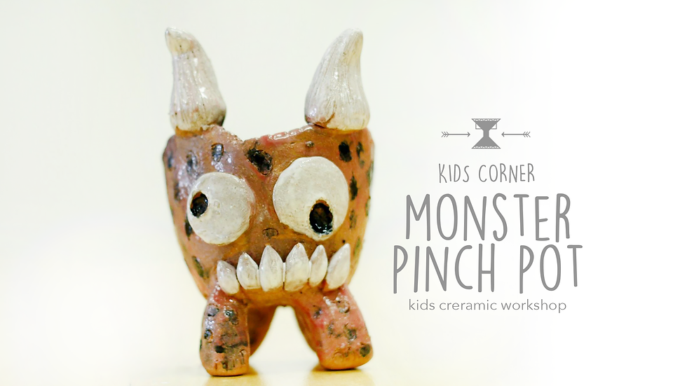Monster Pinch Pot