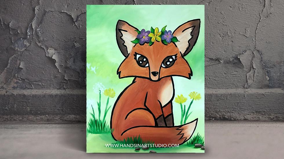 Fox Painting Art Kit