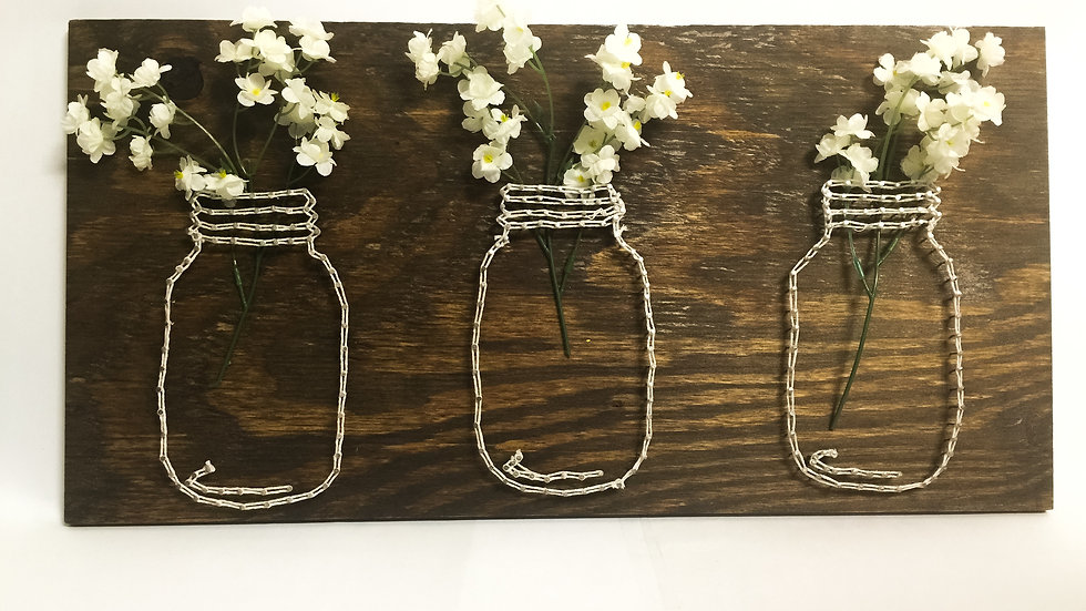 Planter String Art