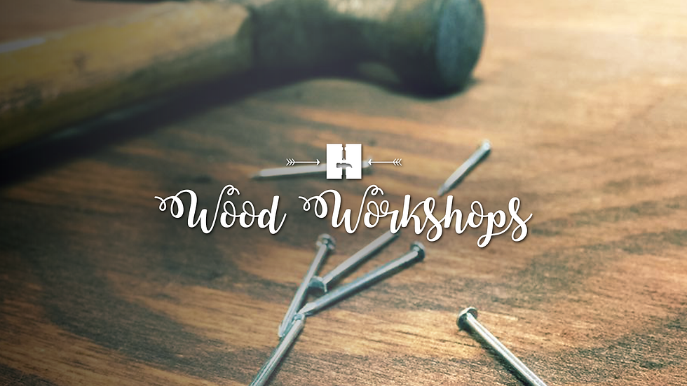 Oct | Kids | Wood Workshops