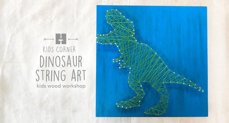 Dinosaur String Art