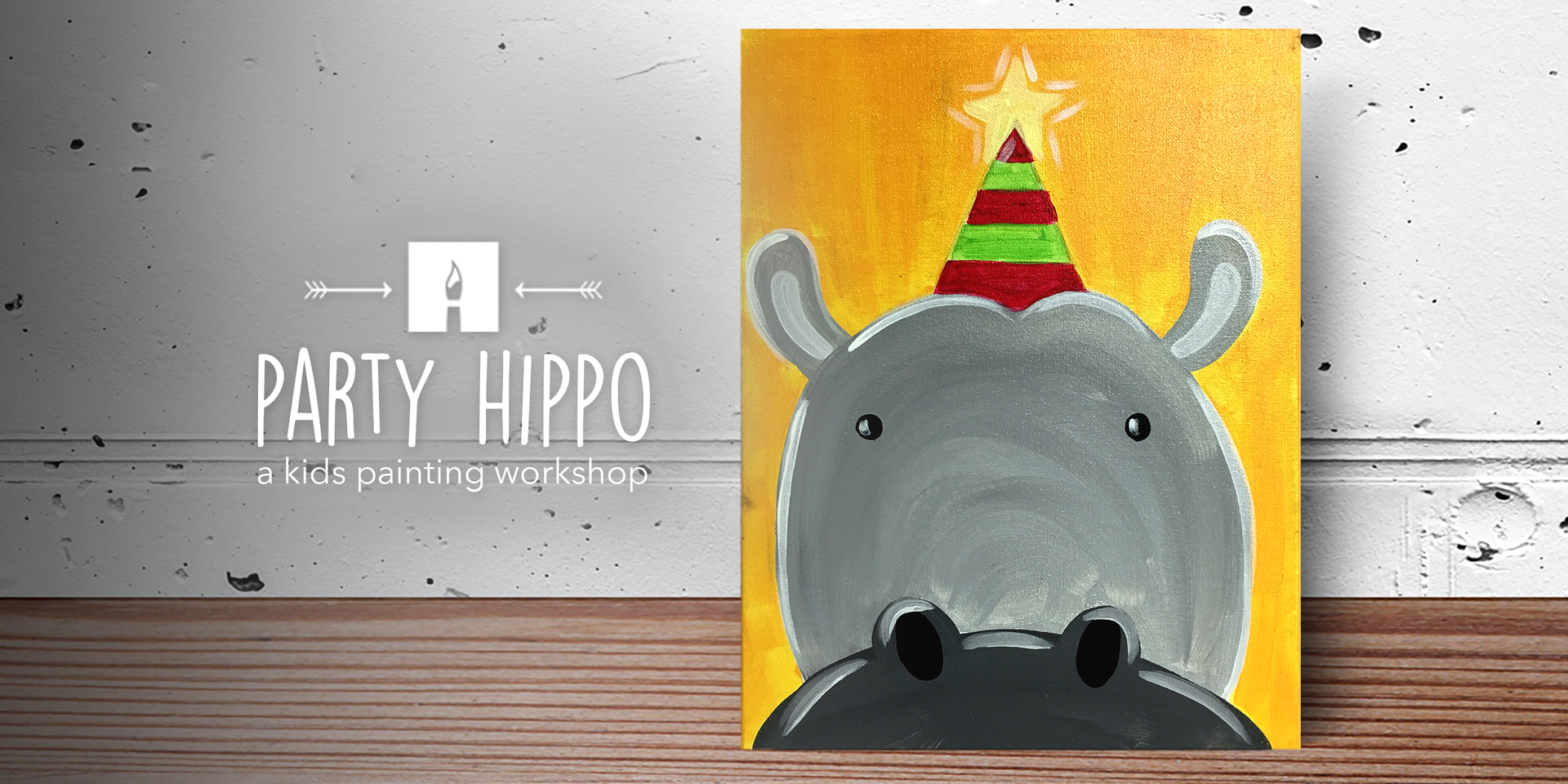 KIDS CORNER Paint party hippo.png