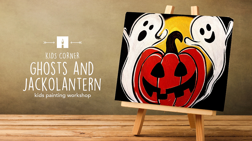 Ghosts & JackOLantern   October 17   3pm