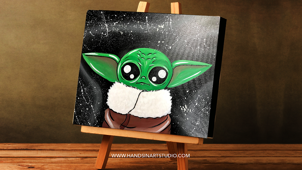 Baby Yoda Painting Art Kit