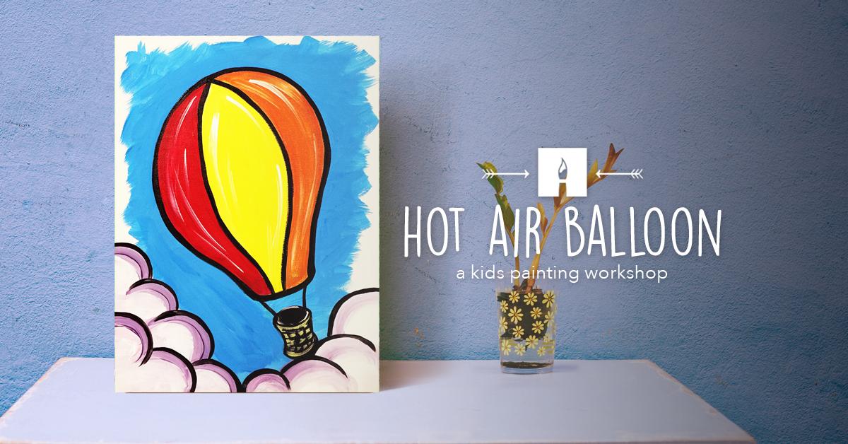 KIDS CORNER Paint Hot Air Balloon.png
