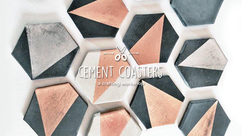 Cement Coasters