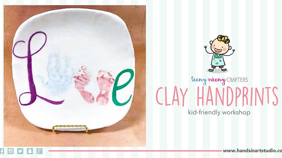 Clay Handprints