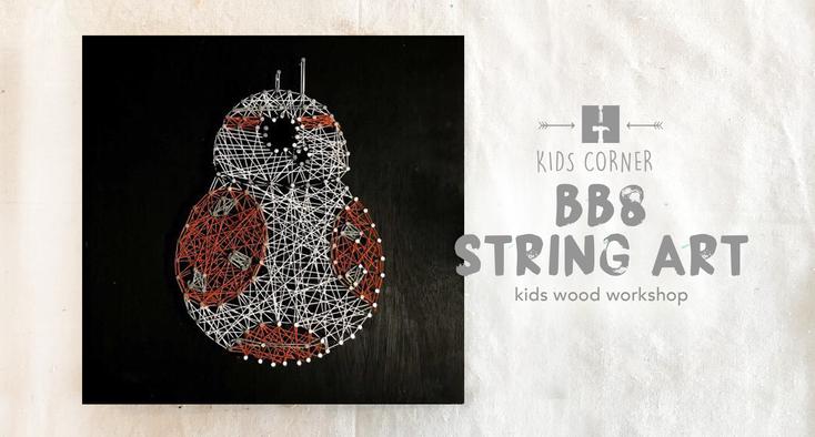 BB8 String Art