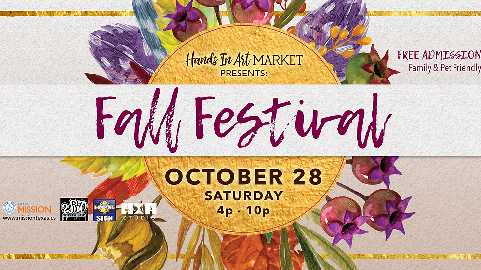 Fall Festival - October 28th