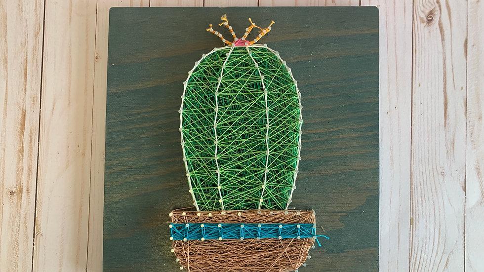 Cactus String Art Kit