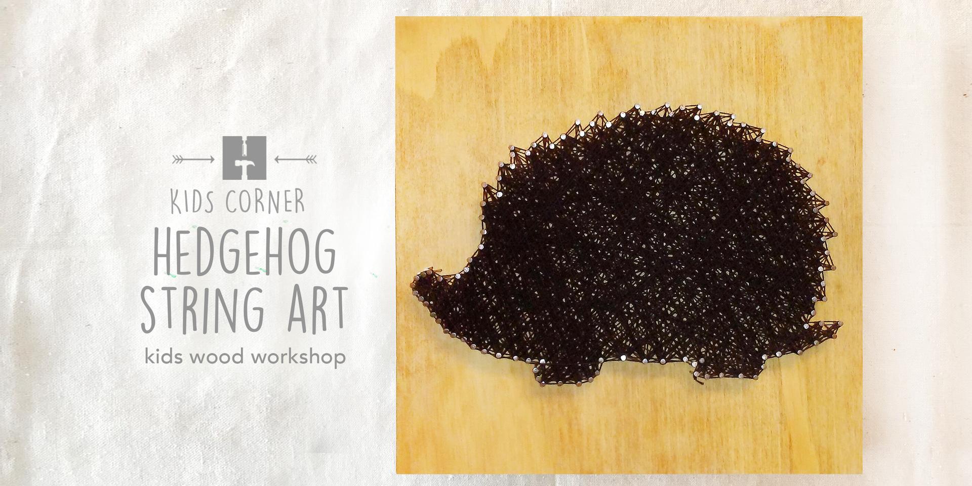 Hedgehog String Art